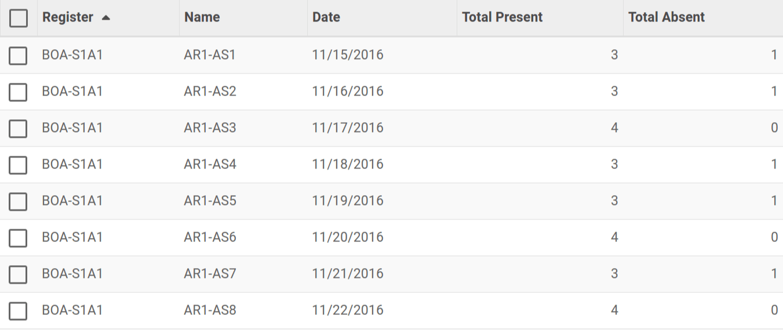 Attendance | OpenEduCat