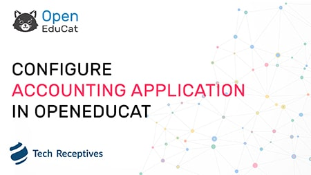 How to configure accounting                                                     application in OpenEduCat